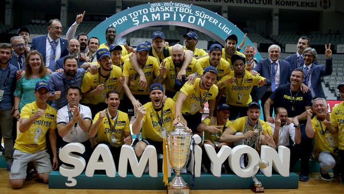 Fenerbahçe rüya gibi sezonu kupayla kapattı