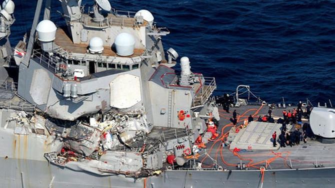 ABD'li denizcilerin cansız bedenine ulaşıldı