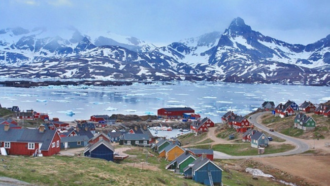 Grönland'de deprem ve tsunami
