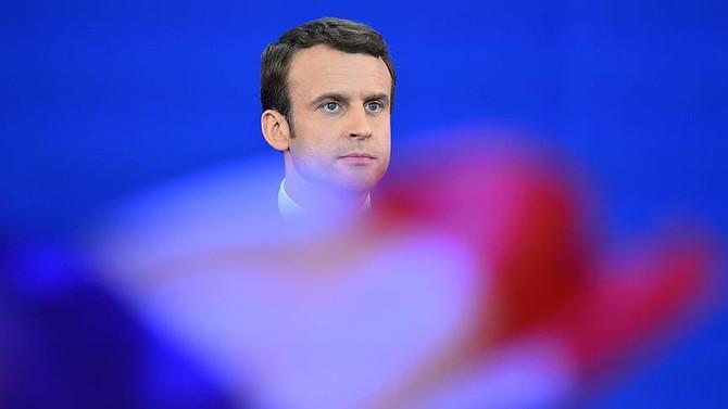 İkinci turda da zafer Macron'un