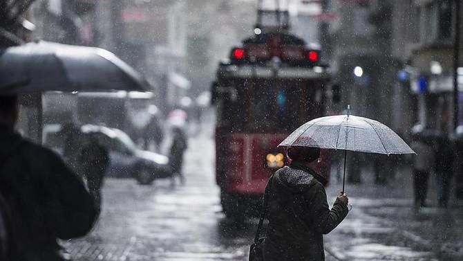 İstanbul'a çok kuvvetli yağış uyarısı