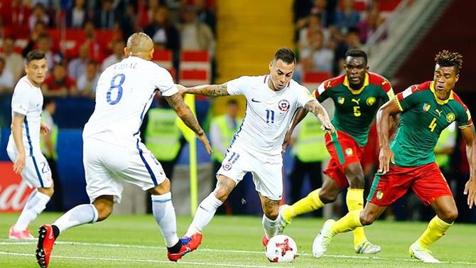 Şili, Kamerun'u 2-0 yendi