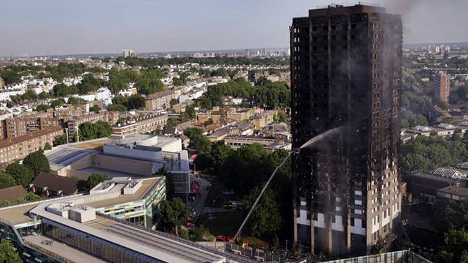 Londra yangınında ölenlerin sayısı 79'a çıktı