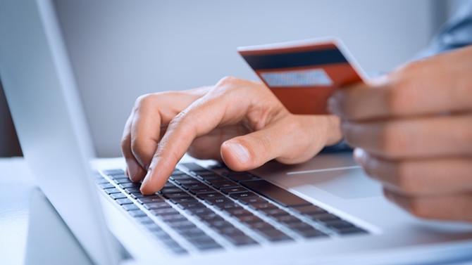 İnternetten kartlı ödemeler yüzde 46 arttı