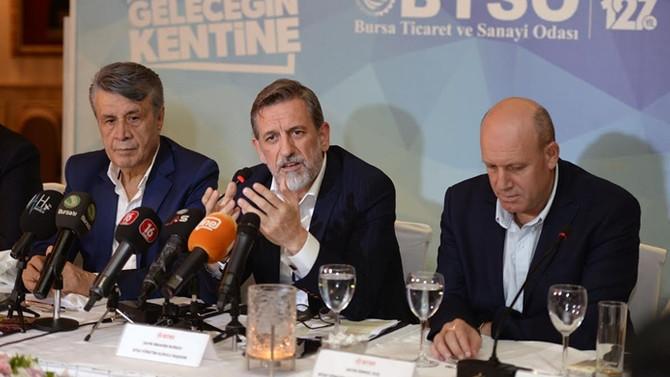 BTSO Başkanı: Türkiye'ye ve Bursa'ya güvenen hiçbir yatırımcı kaybetmeyecek