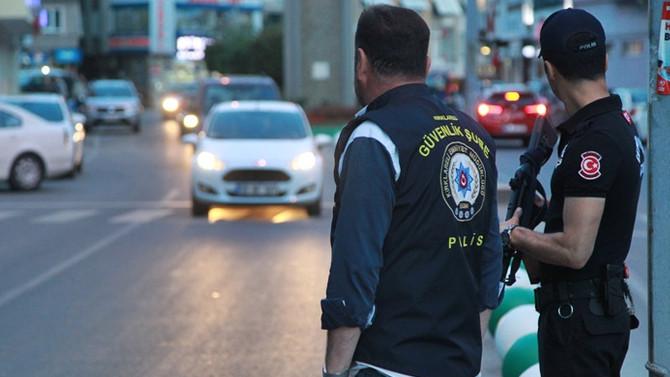 81 ilde 'Huzur Arife Operasyonu': 57 gözaltı