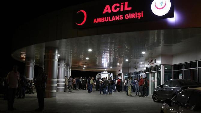 Bingöl'de 3 asker yaralandı