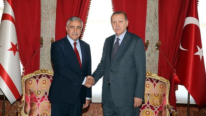 Erdoğan ve Akıncı görüştü