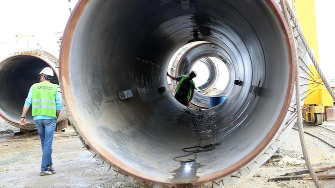 'İlk yerli tünel açma makinesi' Ergene Nehri'ni temizleyecek