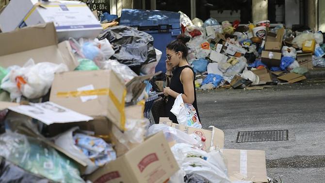 Yunanistan'da 'çöp krizi' büyüyor