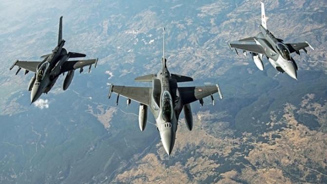Irak'ın kuzeyinde hava harekatında 7 terörist öldürüldü