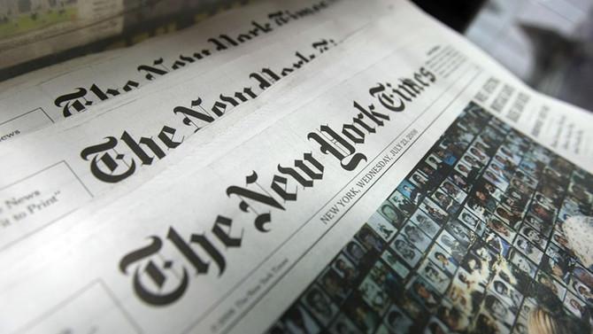 New York Times çalışanlarından iş durdurma kararı