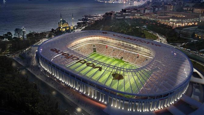 Beşiktaş stadının yeni adı Vodafone Park