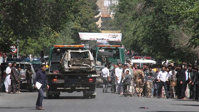 Kabil'de üç bombalı saldırı: 14 ölü, 10 yaralı