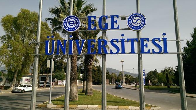 Ege Üniversitesi'nde FETÖ operasyonu