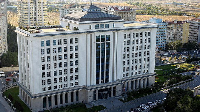 AK Parti MKYK toplantısı başladı
