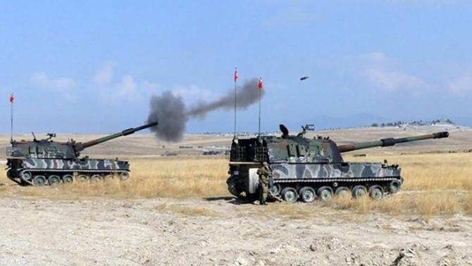 TSK, YPG'nin taciz ateşine karşılık verdi