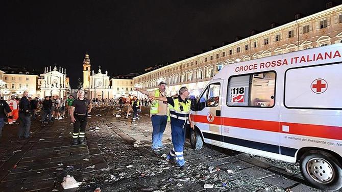 İtalya'da yaralı sayısı bin 527'ye yükseldi