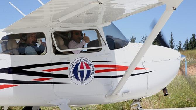 Gaziantep'te pilotluk eğitimi verilecek