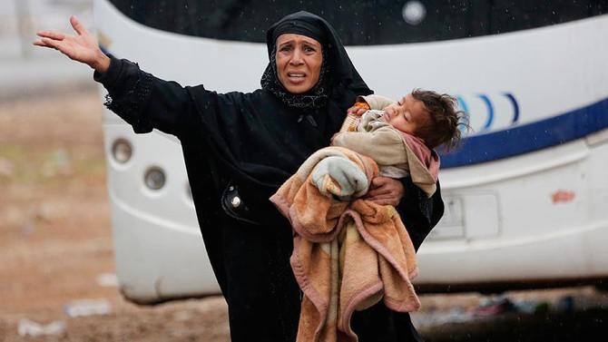 Irak'ta 700 bin kişi kamplarda yaşıyor