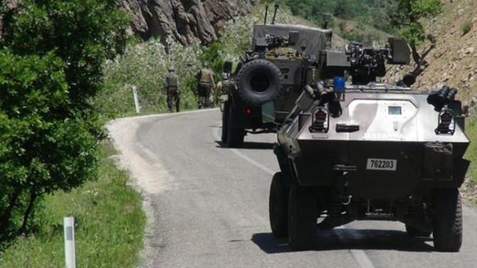 Tunceli'de patlama: 2 asker yaralı
