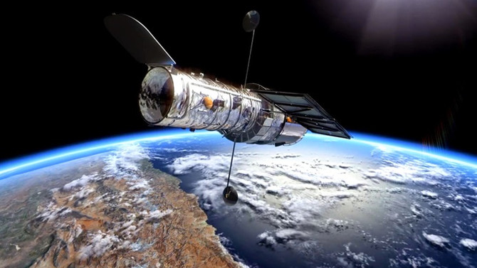 Hubble Teleskobu, ışığın bükülüşünü kayda aldı