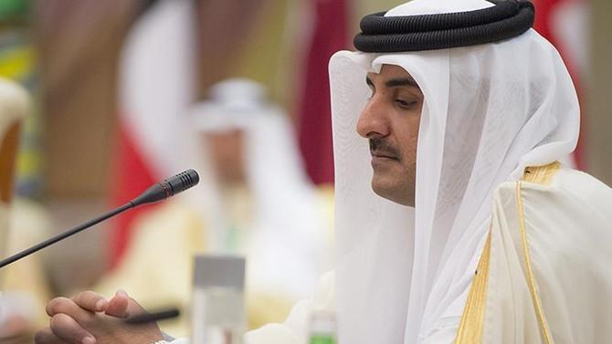 Katar Emiri Trump'ı reddetti