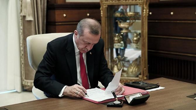 Erdoğan 'Katar' kanununu onayladı