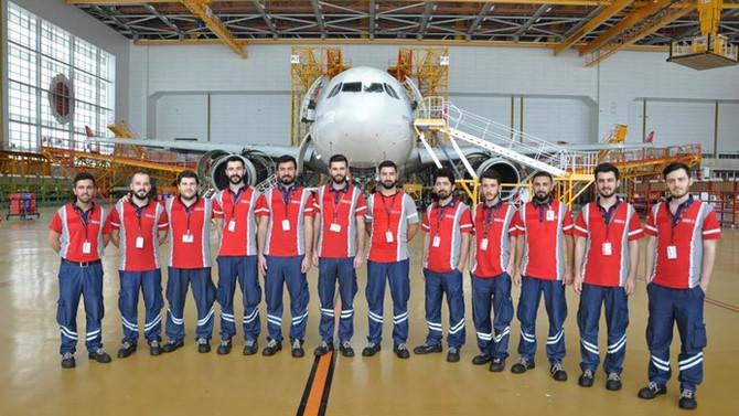 5 yılda 1787 uçak bakım teknisyeni