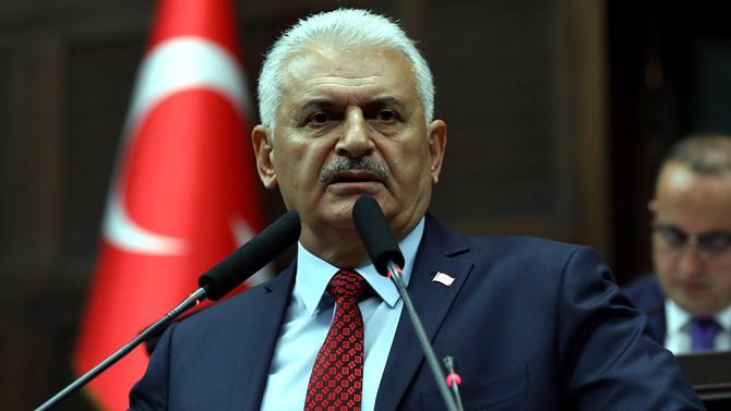 Başbakan Yıldırım, Bakan Kılıç'ı kabul etti