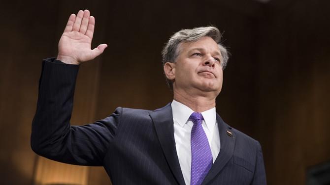 Trump'ın FBI Direktör adayı Wray Kongre'de