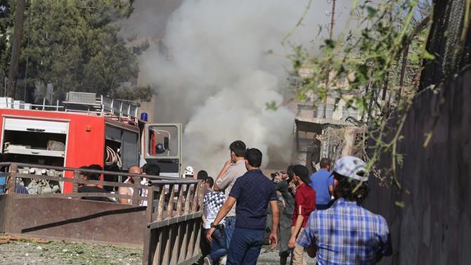 Azez'de bombalı araç saldırısı: 4 ölü, 7 yaralı