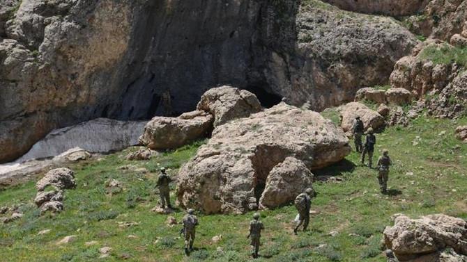 Siirt'te 79 sığınak ve mağara tespit edildi