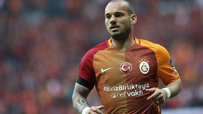 Galatasaray'la Sneijder'in yolları ayrıldı