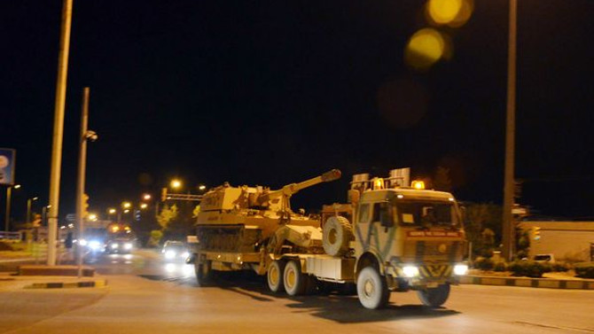 Sınırdaki birliklere mühimmat takviyesi yapıldı