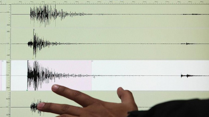 Akdeniz'de iki deprem