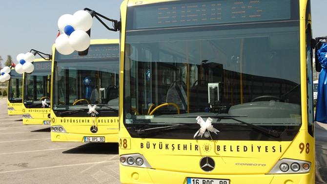 Bursa'dan Sabiha Gökçen'e otobüs seferi