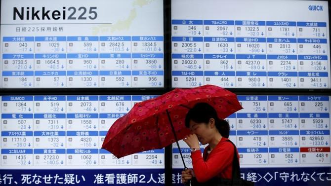 Asya borsaları negatif seyirde