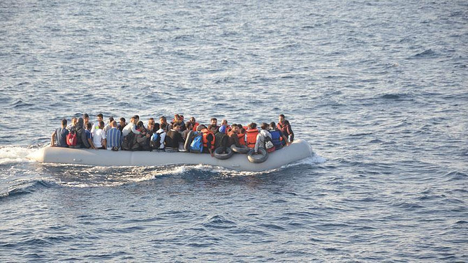 Libya açıklarında 105 Afrikalı göçmen kurtarıldı
