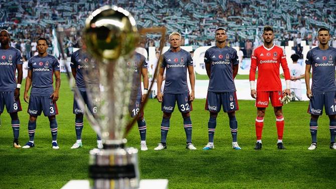 Beşiktaş'ın Süper Kupa karnesi