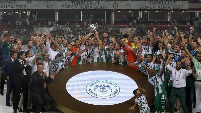 Atiker Konyaspor'da 'tarihi' sevinç