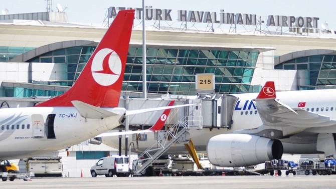 Atatürk Havalimanı Avrupa'da 4'üncü sıraya yükseldi