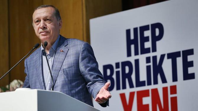 Erdoğan: Teşkilatta yenilik şart