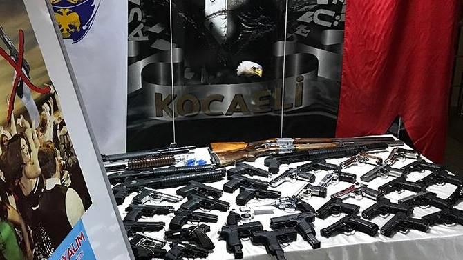 Kocaeli'de havaya ateş edenlere operasyon