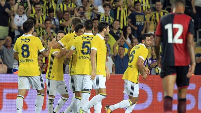 Fenerbahçe, Valbuena ile güldü
