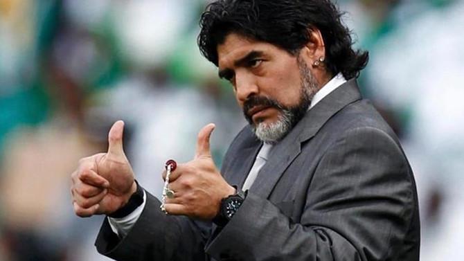Maradona: Maduro'nun emrinde bir neferim