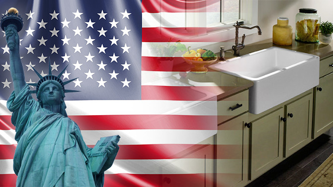 Amerikalı firma kilden mamul mutfak evyeleri ithal edecek