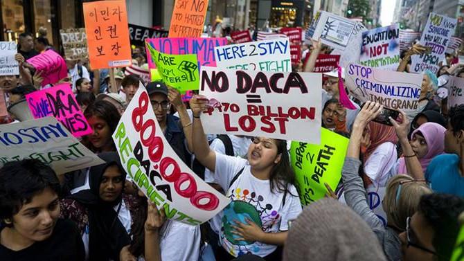 Trump ile Demokratlar 'DACA' konusunda anlaştı