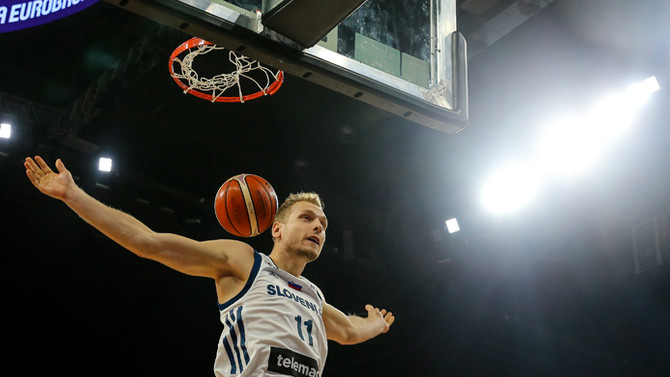 Slovenya çeyrek finale yükseldi