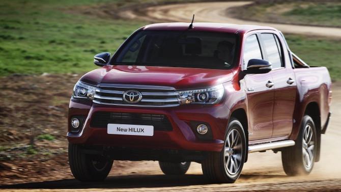 Toyota Hilux 2017'de de açık ara lider